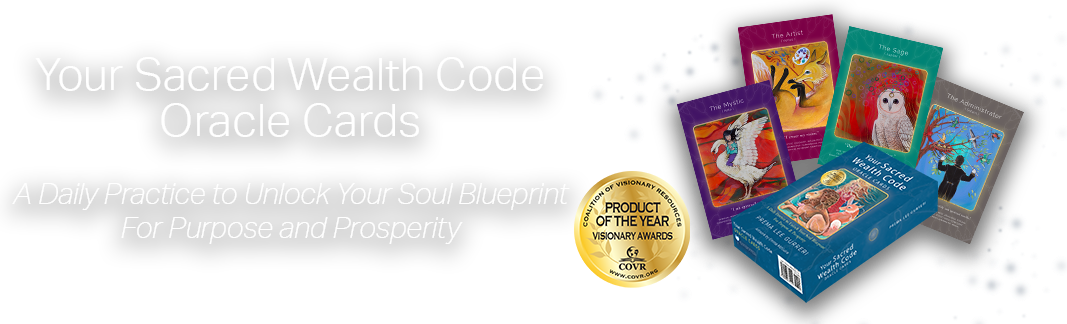 Sacred Wealth Code Oracle Cards